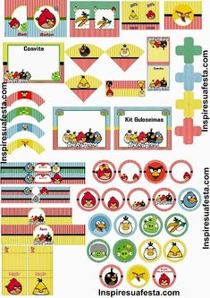 Angry Birds Free Printable Kit.
