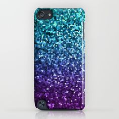 """SOLD """"Mosaic Sparkley Texture G198"""" iPod Touch Case! https://society6.com/product/mosaic-sparkley-texture-g198_iphone-case#s6-2097216p20a9v151a52v377 #Society6 #Mosaic #Sparkley #Texture #iPod #Touch #Case #sparkly #purple #blue"""