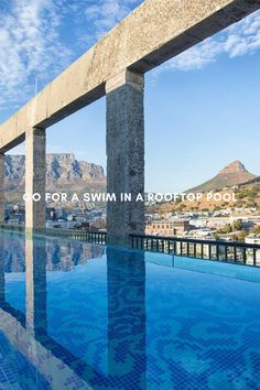 The Cape Town summer season is in full swing and things are heating up fast! Besides the chilly Atlantic, there is nothing better than a refreshing dip in one of … Rooftop Pool, Cape Town, Marina Bay Sands, Pools, Dip, Swimming, The Incredibles, Building, Summer