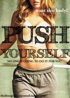 Push it to the limit then push it just a little bit...
