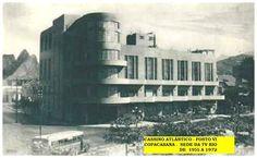 Em 15 de julho de 1955, entra no ar a TV Rio canal 13 do Rio de Janeiro, aliando-se à TV Record nas Emissoras Unidas. A emissora funciona no prédio pertencente ao Cassino Atlântico na Avenida Atlântica, Posto 6, em Copacabana.