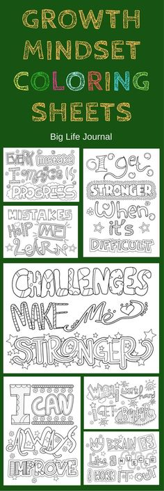 Growth mindset print