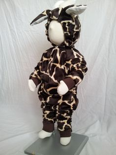 Baby Size 9  12 Months Giraffe Costume For by rcdboutique on Etsy, $40.00