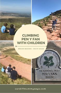 Climbing Pen y Fan - South Wales' highest mountain - with children age Days Out With Kids, Family Days Out, Wales Uk, South Wales, Brecon Beacons, Family Adventure, Cardiff, New Adventures, Day Trips