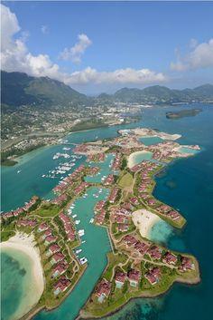Eden Island, Seychelles.