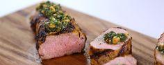 Bobby Flay's Coconut-Marinated Pork Tenderloin Recipe | The Chew - ABC.com