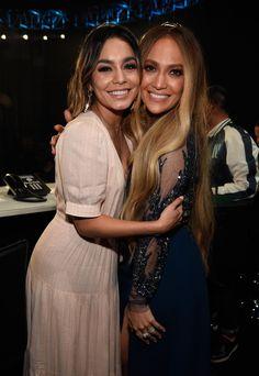 Vanessa Hudgens and Jennifer Lopez