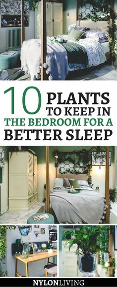 Keeping plants in your bedroom actually improves your sleep. Check out these decor ideas for a plant lover's bedroom. decor bedroom plants A Plant Lover's Bedroom (And the 10 Best Plants To Keep in the Bedroom for Better Sleep) - NYLon Living Bedroom Plants Decor, Home Decor Bedroom, Plant Decor, Plants For The Bedroom, Bedroom Ideas, Home Decor With Plants, Girls Bedroom, Trendy Bedroom, Apartment Interior Design