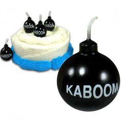 Velas de cumpleaños Bombas