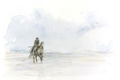 I cavalli sono creature che adorano la terra Mentre galoppano su zoccoli d'avorio Costretti dalla meraviglia della morte e della nascita I cavalli continuano a correre, sono liberi. (citazione trat…