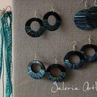 """Wystawa """"Pasją Malowane"""" - Gallery ArtWilk - Artwilk Drop Earrings, Jewelry, Jewlery, Jewerly, Schmuck, Drop Earring, Jewels, Jewelery, Fine Jewelry"""