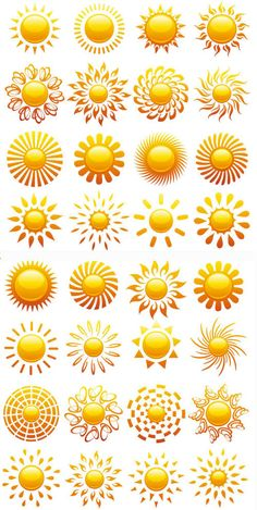 Image detail for -Vector Sun Designs | LordofDesign.com - Download free graphic design ...