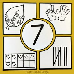 These print, cut and go number puzzles are free so grab them for your kids today!
