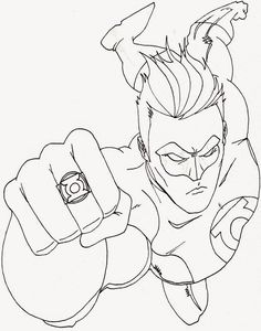 Coloring Pages Superhero Free And Printable For Boys Adult