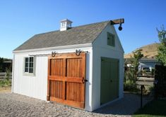 The White Barn Shed