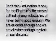Be smart