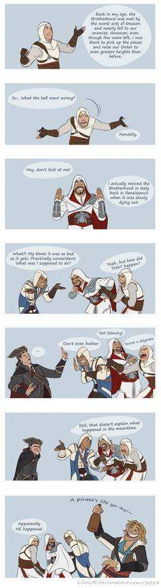 By the way, Black Flag is my favourite Assassins Creed game. - 9GAG