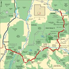 Scenic Byway 12 - Map | America's Byways