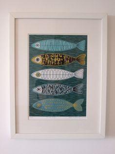 Five Fish print