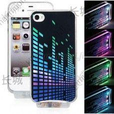 Väriä vaihtava LED-kuori, iPhone 4 / 4S
