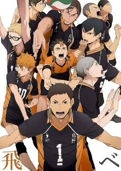 The flightless crows are back in action. Go Karasuno!