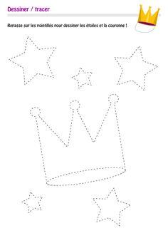 pointillés,jeux pointillés,jeux de pointillées,dessiner avec pointillés,repasser pointillés,apprendre à dessiner, dessiner, tracer, apprendre dessin, jeux à imprimer, jeux enfants, jeux éducatifs, jeux pour enfants, jeux educatifs, site pedagogique, reproduire formes,reproduire motifs,tracer,dessiner,site éducatif, site pour enfants, eveil enfants Motor Activities, Preschool Activities, Tracing Lines, Home Schooling, Kids Education, Baby Quilts, Rois Mages, Worksheets, Diy And Crafts
