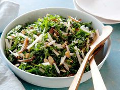 Kale and Apple Salad recipe from Food Network Kitchen via Food Network