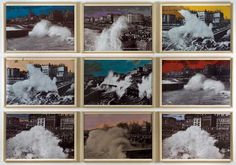 Susan Hiller, Brightening, Hand altered Photographs