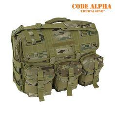 Mercury Luggage Molle Laptop Attache', TAA - Multicam