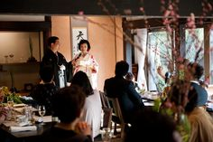 Japanese traditional wedding at old japanese house