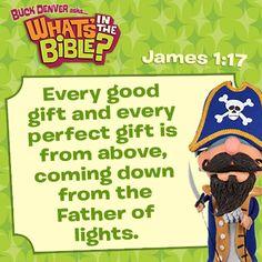 James 1:17 short, free devotional at whatsinthebible.com