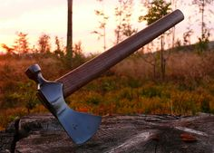 Like Ive said, next to a Knife a tomahawk is the best thing to have in the wilderness