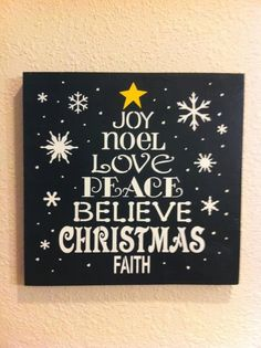 Easy to copy.....Words of Christmas in the shape of a tree.