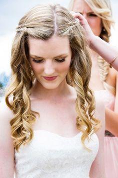 Zauberhafte Brautfrisuren für lange Haare: Unsere ausgewählten Ideen für Ihren perfekten Brautlook 2015! Image: 9
