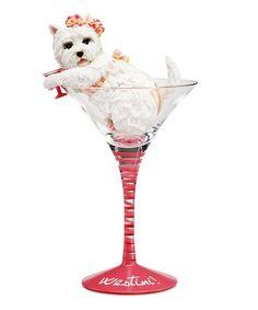Look what I found on #zulily! 'Westini' Figurine Martini Glass #zulilyfinds