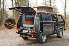 VW 4x4 (as long as there is fuel to run it)