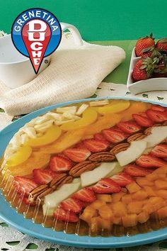 Tropical Fruit Delight! - Gelatin Cake