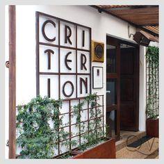 Criterion, Bogota  Crossover food.
