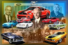 """50 Years of Mustangs"" Re-Pinned by Tindol Ford Mustang Dealership in Gastonia, NC. http://tindolford.com"