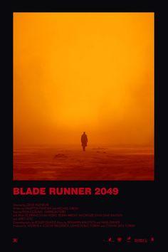 BROTHERTEDD.COM - theandrewkwan: Blade Runner 2049 alternative... Minimal Movie Posters, Cinema Posters, Film Posters, Poster Series, Movie Poster Art, Poster On, Poster Layout, Vintage Movies, Vintage Posters