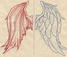 Beautiful Ideas to Back Tattoo Placement Designs - ArmBand Ideen Doodle Drawing, Drawing Sketches, Tattoo Sketches, Back Tattoo Placements, Placement Tattoo, Angel Y Diablo, Ange Demon, Demon Wings, Angel And Devil