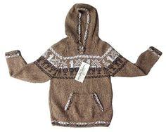 Kinder Kapuzen #Pullover Strickpullover peruanische #Alpakawolle 4-8 Jahre Gloves, Unisex, Sweaters, Fashion, 4 Years, Cowl, Clothing, Breien, Patterns