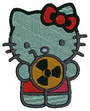 Atomic Kitty - Machine Embroidery Designs