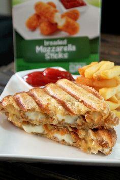 Mozzarella Sticks Grilled Cheese-Creole Contessa