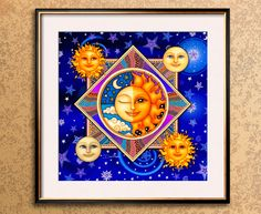 Shop Moon Magnets from CafePress. Great designs on professionally printed fridge magnets. Dan Morris, Warm Hug, Drinking Tea, Art Prints, Magnets, Mandala, Abstract Art, Chicken Art, Square Art