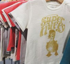 Lion of Leisure @ Playtime - Paris // new Baby T-shirt DUCKLING 'Super Fluffy'