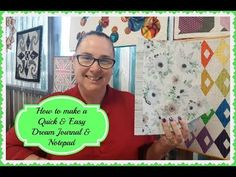 How to Make a Quick & Easy Dream Journal & Notepad