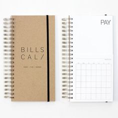 DIY Bills Calendar   13 Ingenious Planners That Will Help You Get Your Life Together