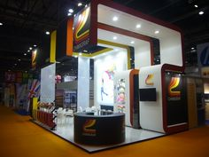 Chimigraf stand at the last Fespa London edition 2013