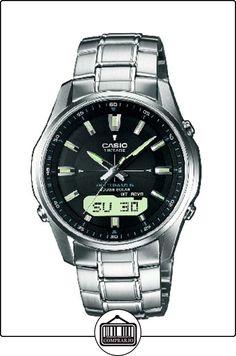 CASIO Funk LCW-M100DSE-1AER - Reloj de caballero de cuarzo, correa de acero inoxidable color plata de  ✿ Relojes para hombre - (Gama media/alta) ✿